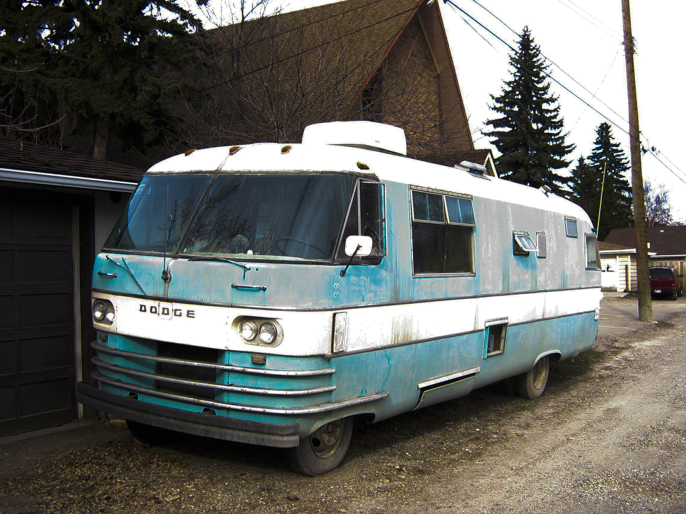 Dodge Travco Motorhome 2272 x 1704