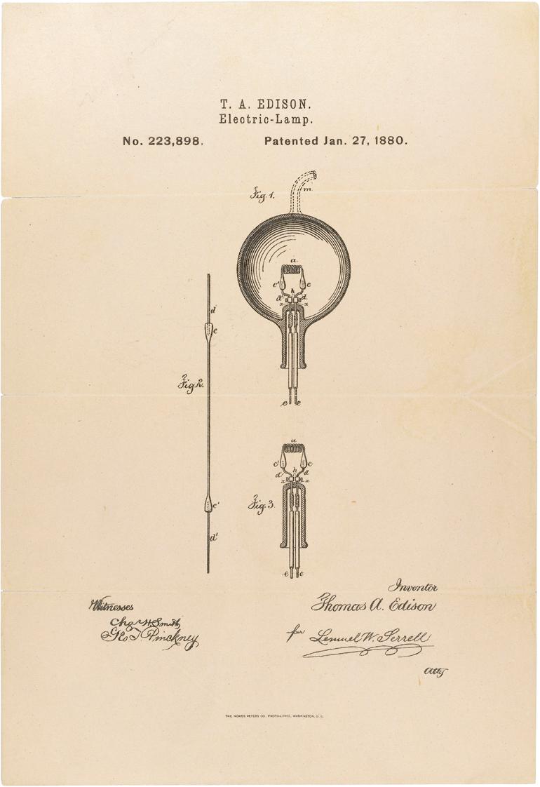 File:Edison Patent Light Bulb L