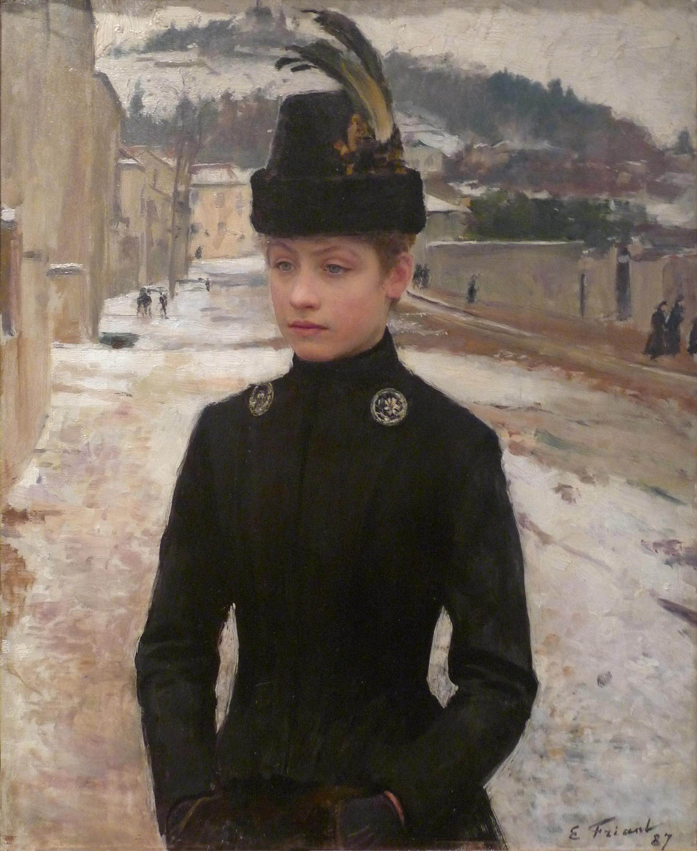 http://upload.wikimedia.org/wikipedia/commons/f/f7/Emile_Friant-Jeune_Nanc%C3%A9ienne_dans_un_paysage_de_neige-Mus%C3%A9e_des_beaux-arts_de_Nancy.jpg