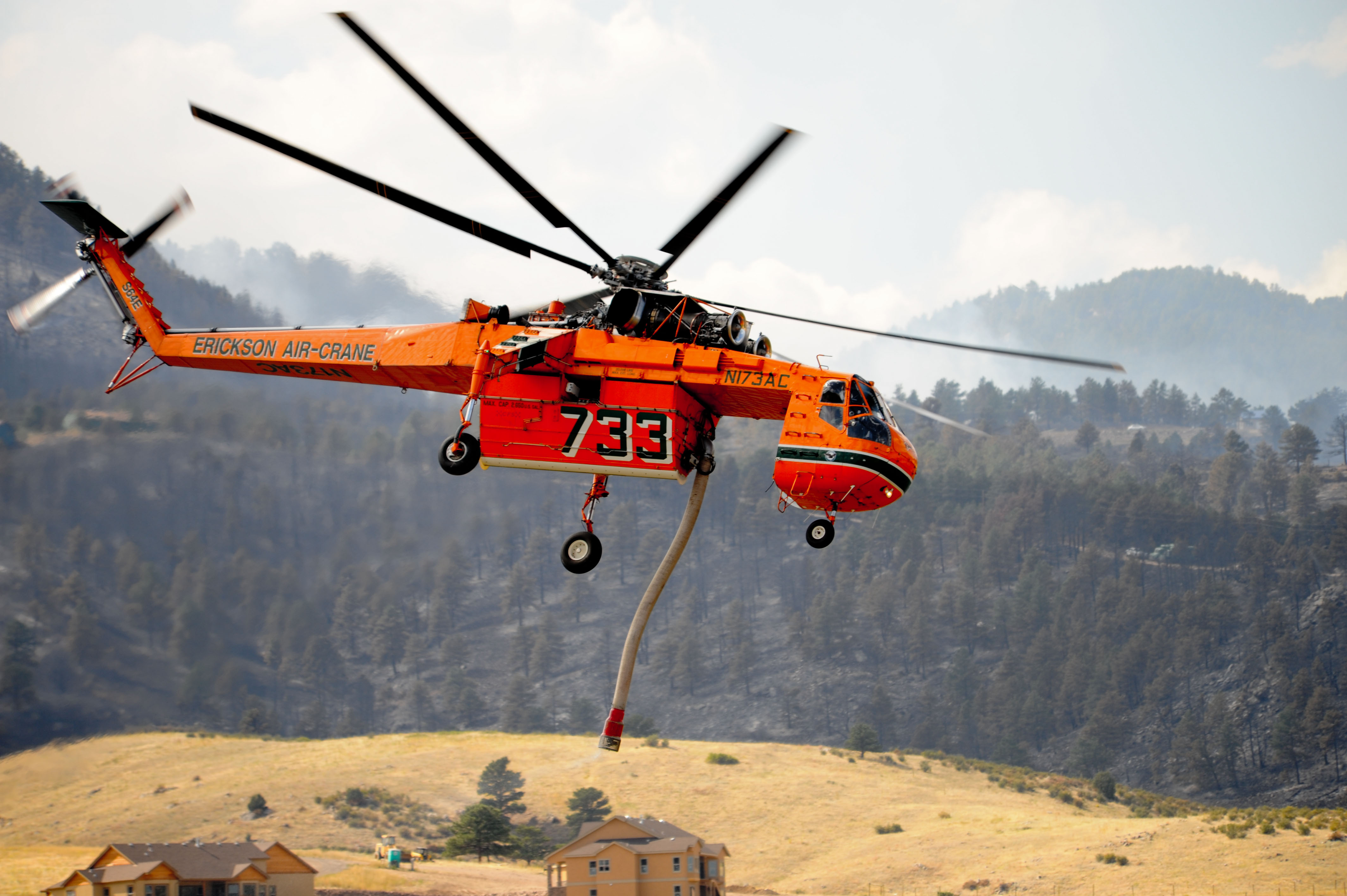 File Fema 45354 Firefighing Helicopter Being Used At