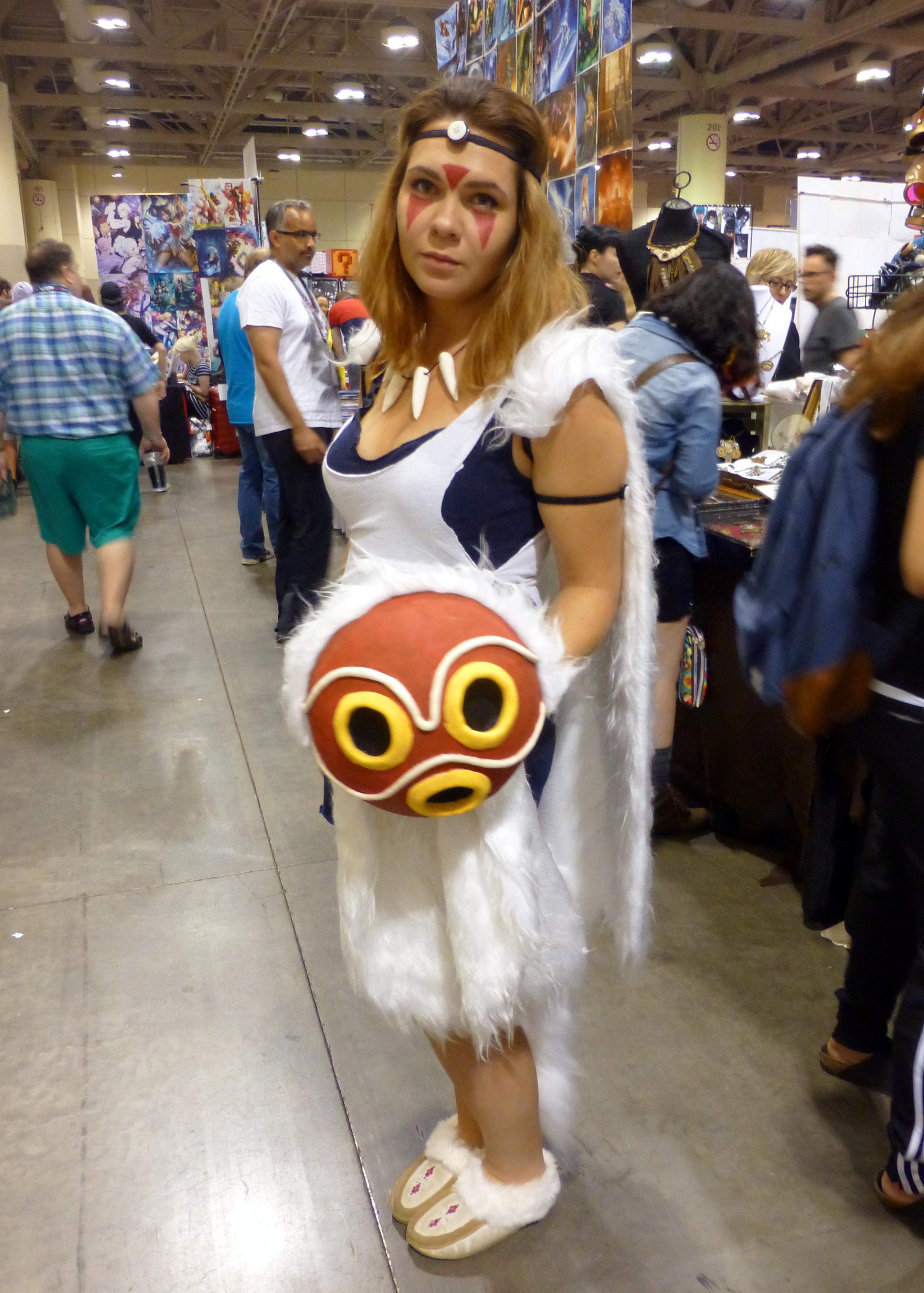 FileFan Expo 2015 - Princess Mononoke (21145481384).jpg  sc 1 st  Wikimedia Commons & File:Fan Expo 2015 - Princess Mononoke (21145481384).jpg - Wikimedia ...