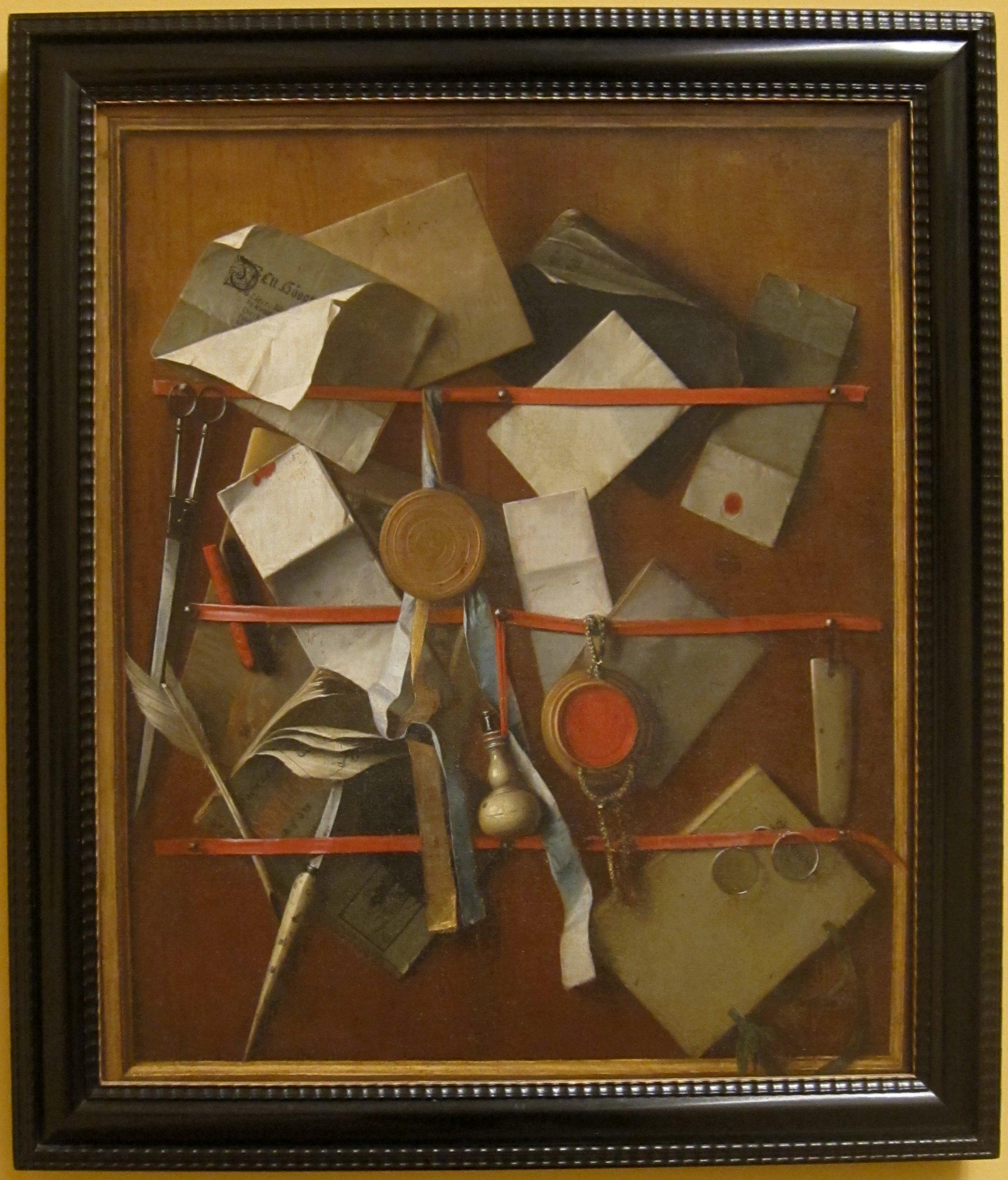 Letter Painting Art