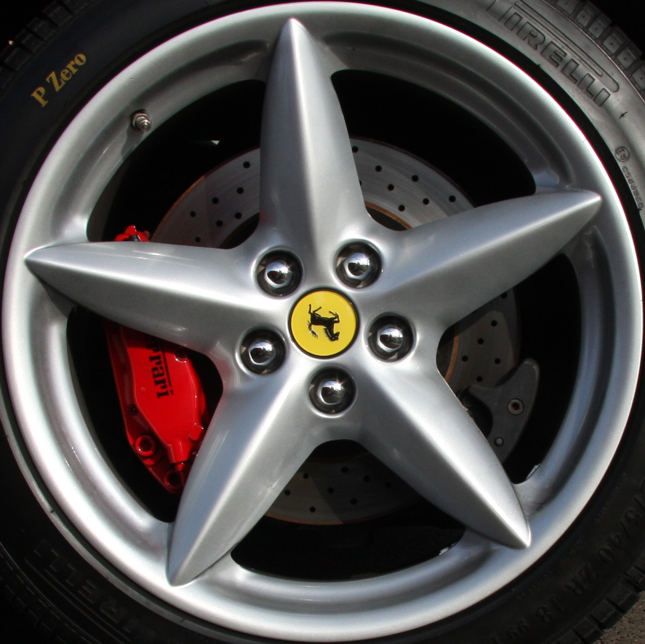 File Ferrari F430 Scuderia Wheel Jpg: File:Ferrari 360 Wheel