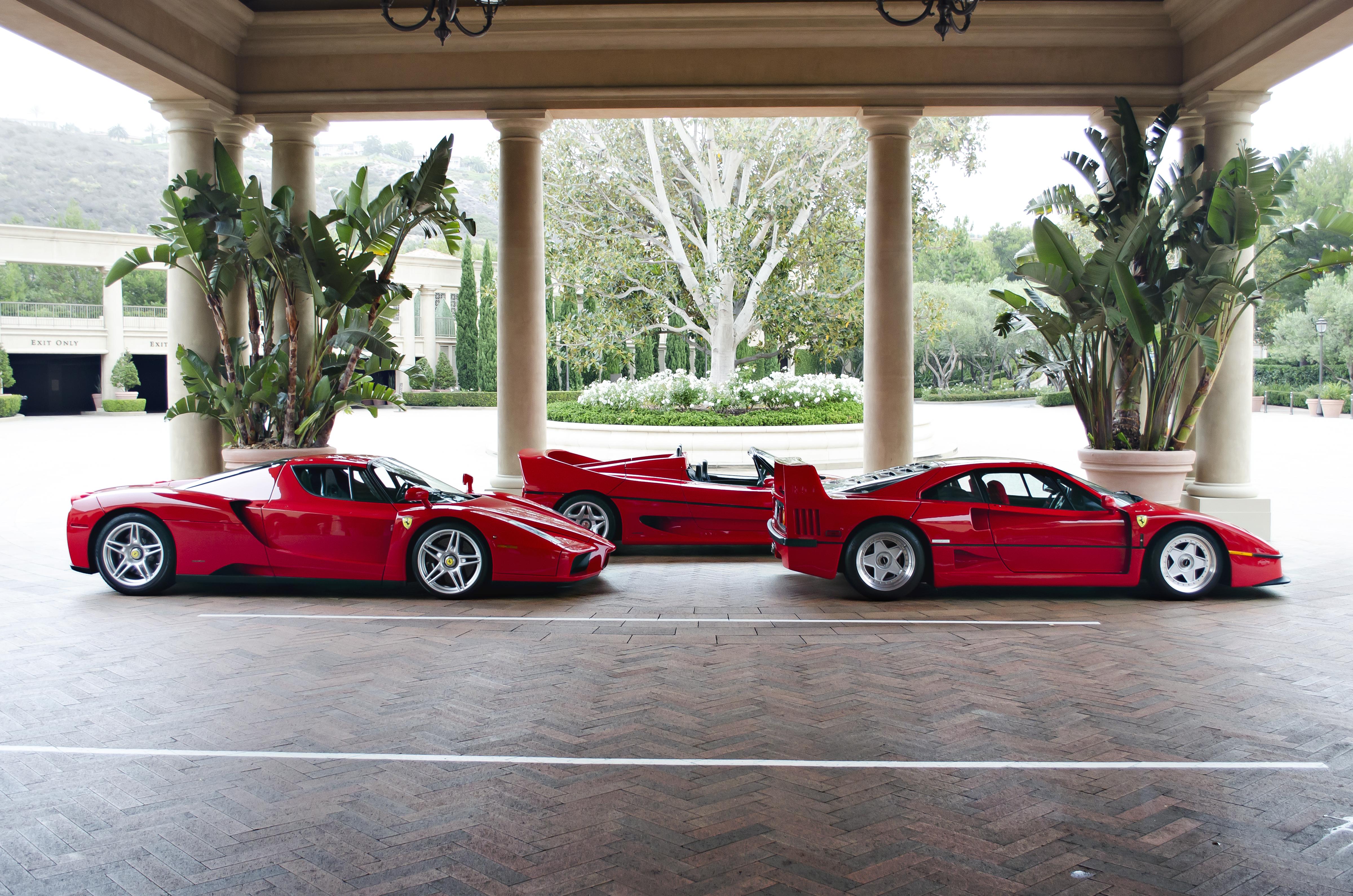 File Ferrari Supercars F40 F50 And Enzo 9376918883 Jpg Wikimedia Commons