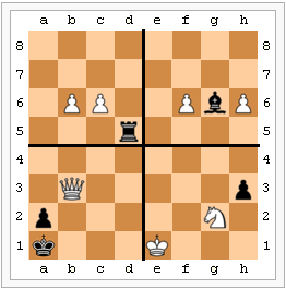 Four examples of advanced passed pawns