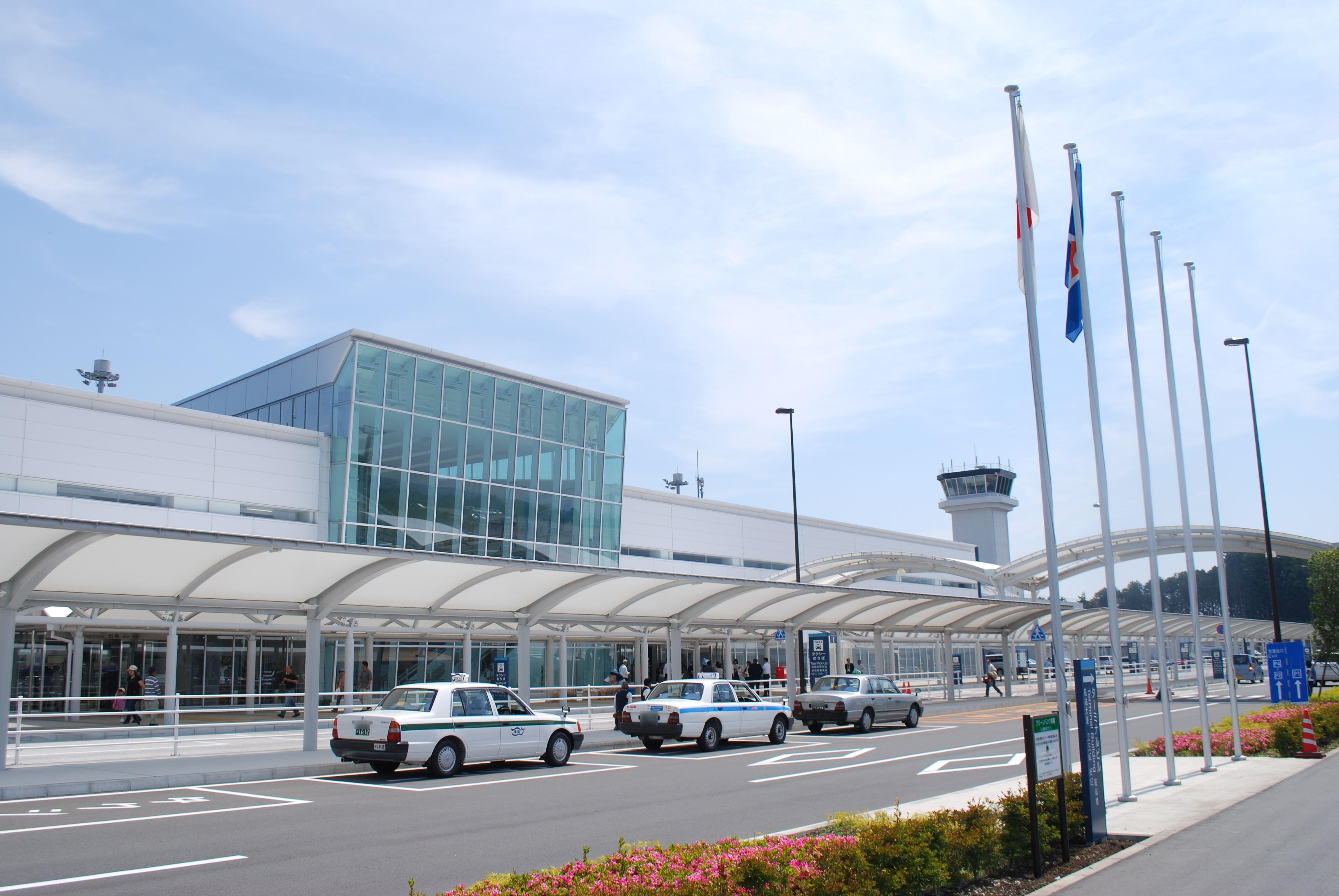 Shizuoka Japan  city photos gallery : Description Fujisan Shizuoka airport,Makinohara city,Japan