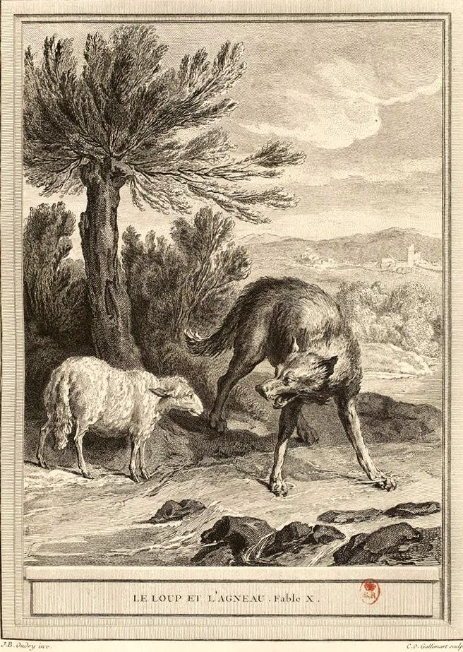"""Résultat de recherche d'images pour """"le loup et l'agneau wikimedia"""""""