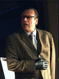 Schramm as Lothar Dombrowski on stage in 2006.