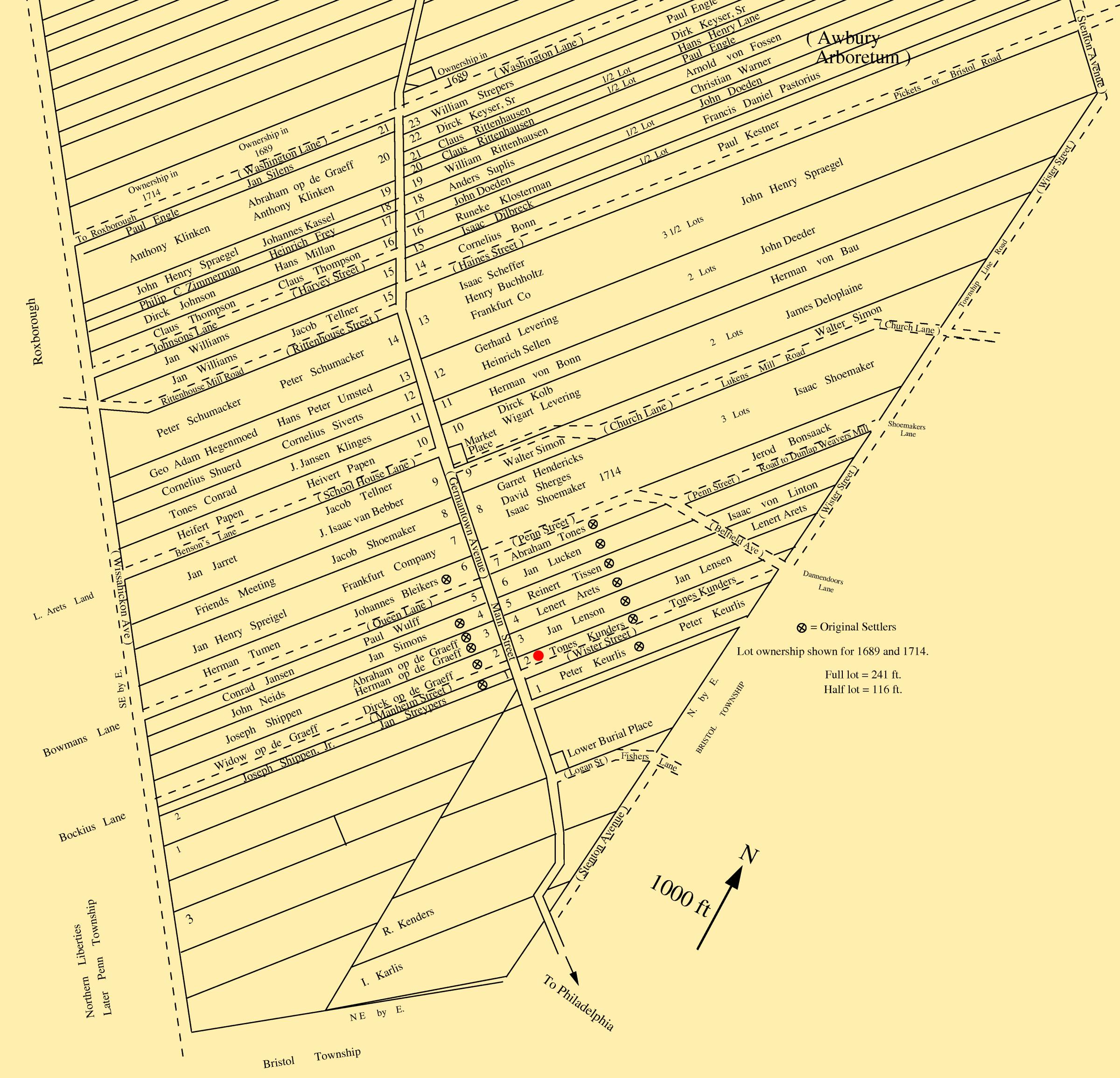map of germantown philadelphia File Germantown Map 1689 Png Wikimedia Commons map of germantown philadelphia