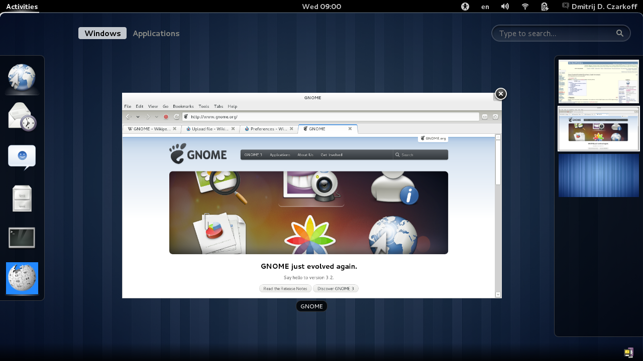 [تصویر:  Gnome_3.2_shell.png]