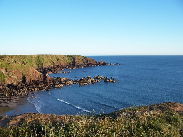 Great Castle Head from the North side of Westdale Bay - geograph.org.uk - 1258733