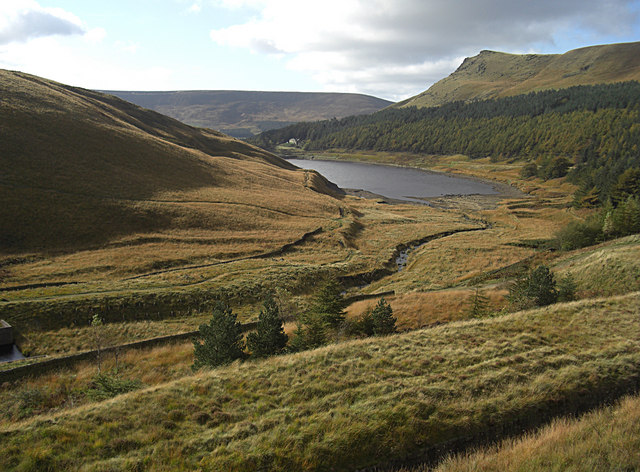 Greenfield Brook Valley - geograph.org.uk - 1538141