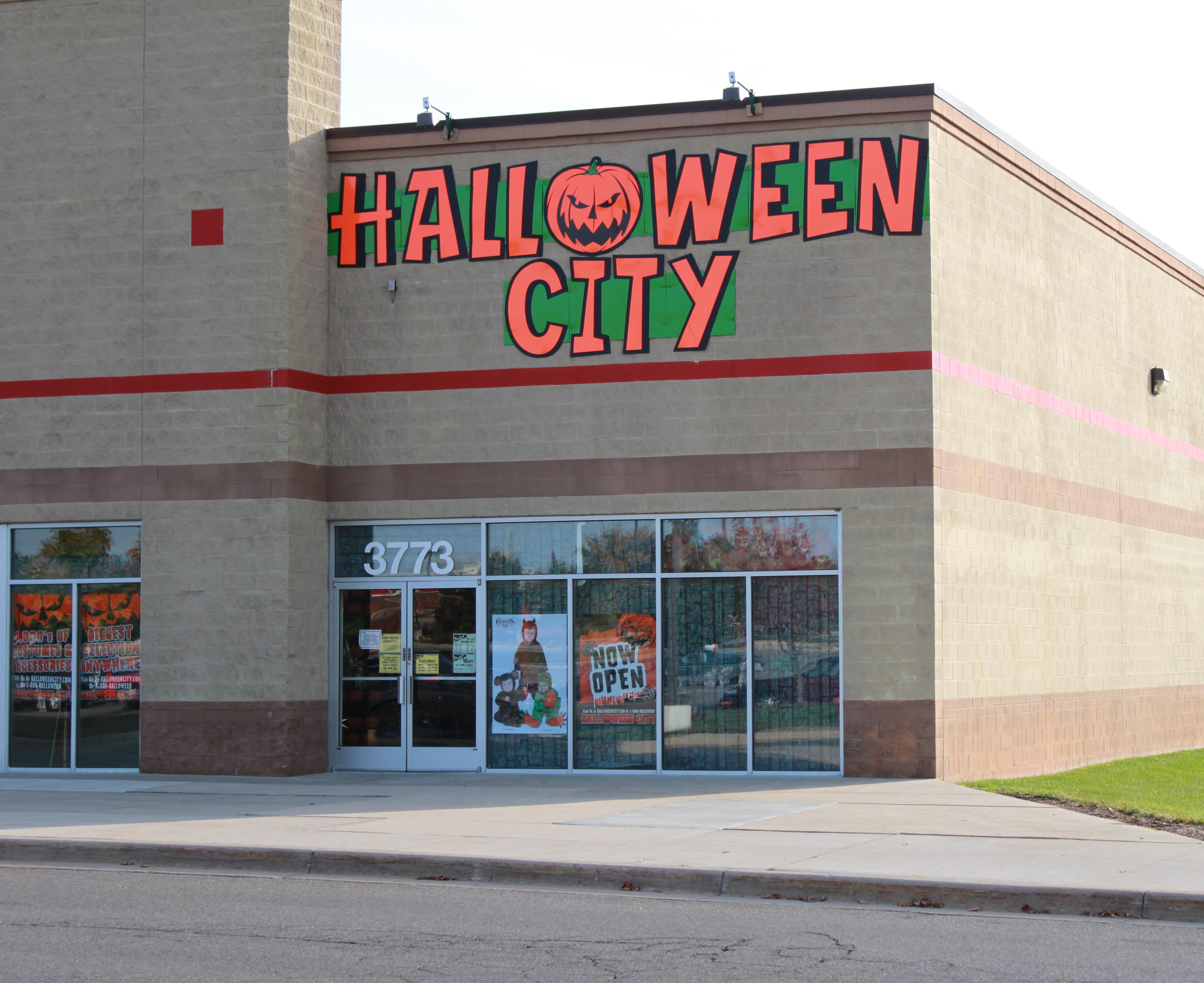 valentine one: halloween store
