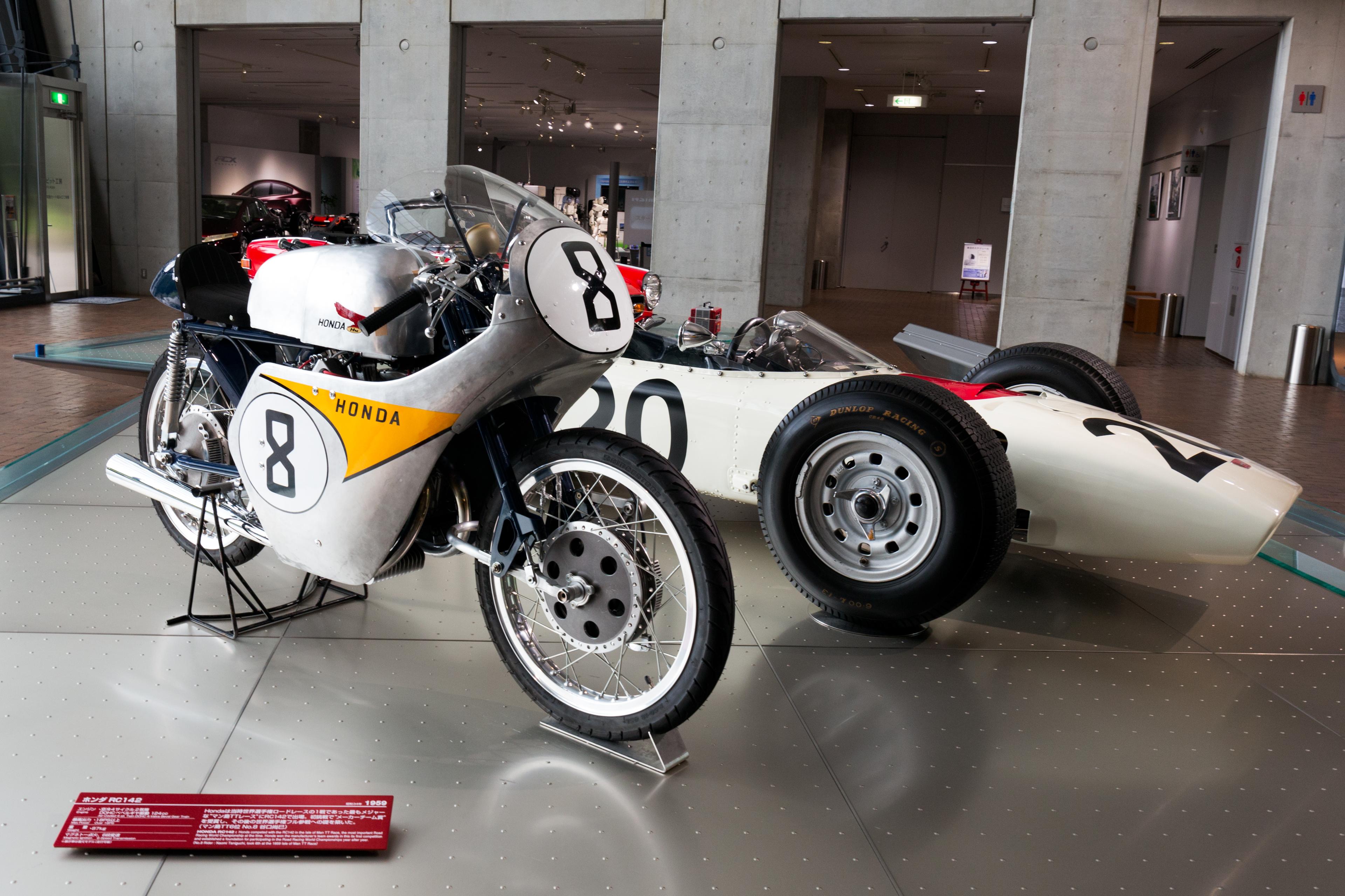 FileHonda RA271 And Honda RC142 Front Right Collection Hall