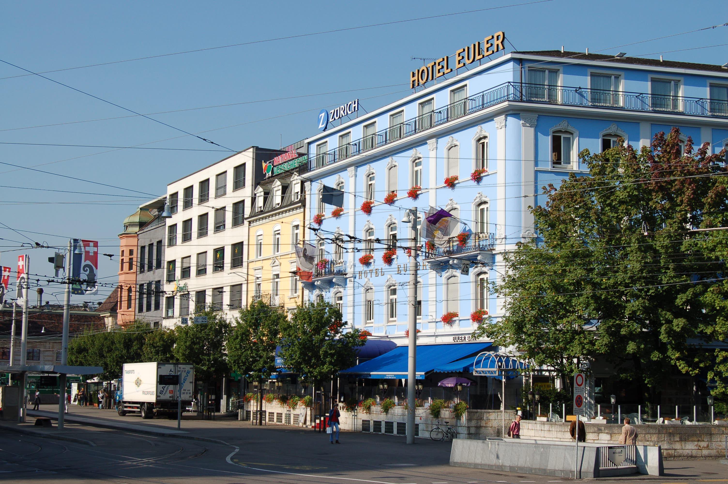 File Hotel Euler Bahnhofplatz Basel 2006 816 Jpg