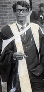 Azad on his convocation ceremony of Dhaka University, 8 March 1970