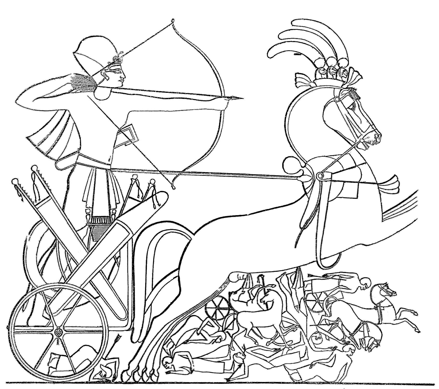 раскраска египетский воин самый эффективный способ