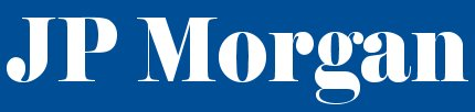 The J.P. Morgan & Co. logo before its merger with Chase Manhattan Bank in 2000 JP Morgan logo.jpg