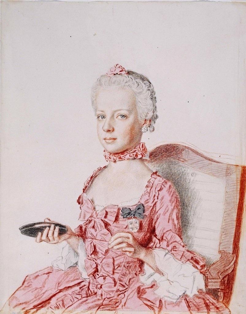 Fichier:Jean-Étienne Liotard, L'Archiduchesse Marie-Antoinette d'Autriche,  future Reine de France, à l'âge de 7 ans (1762) - 01.jpg — Wikipédia