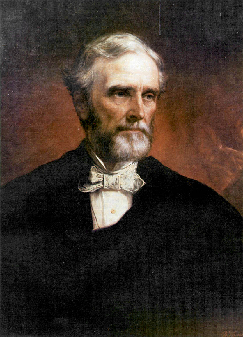 Jefferson Davis portrait by Daniel Huntington