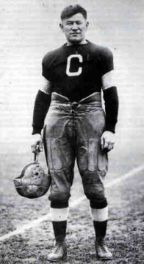 Jim Thorpe during his tenure with the Bulldogs.