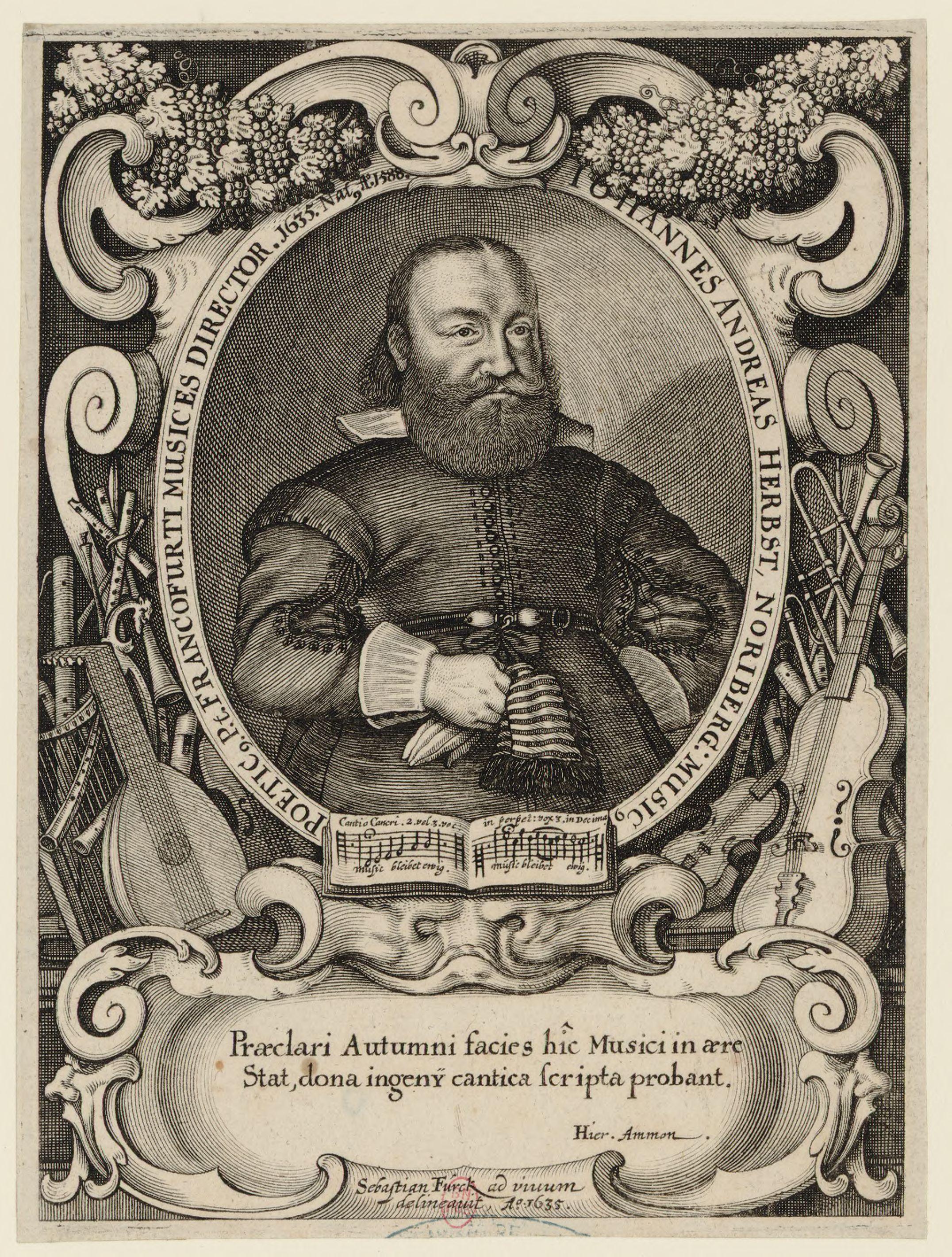 Depiction of Johann Andreas Herbst