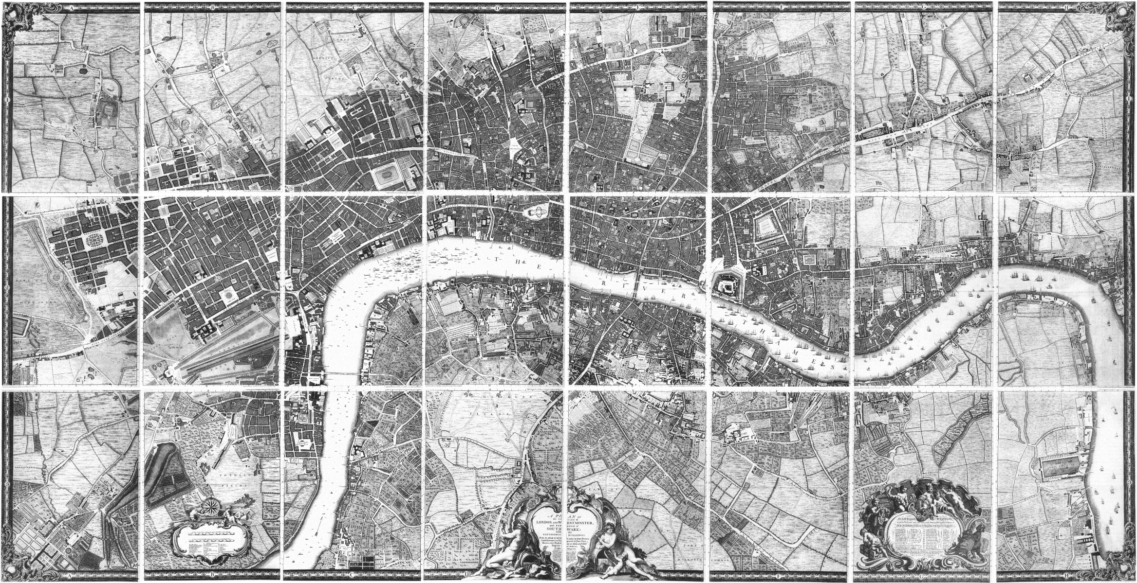 File:John Rocque's Map of London, 1746.png