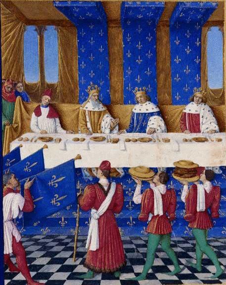 Cesta Karla IV. se synem Václavem do Francie
