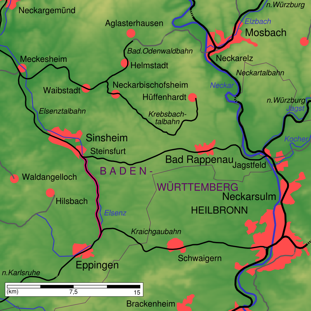 single baden württemberg Taunus