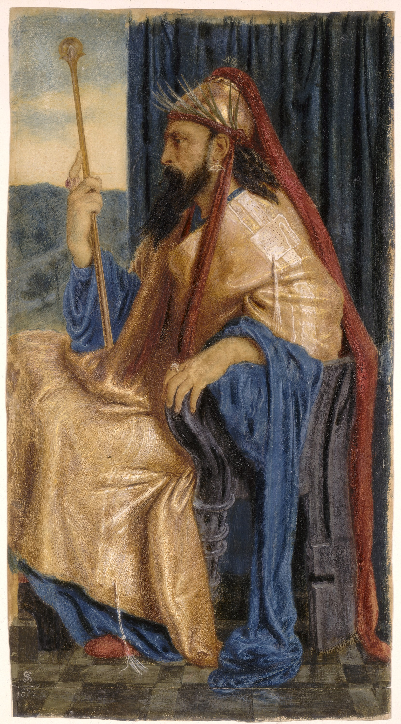 Painting of King Solomon