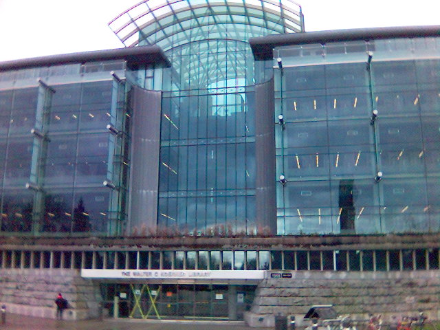 Koerner Library at the University of British Columbia