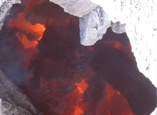 Coal seam fire