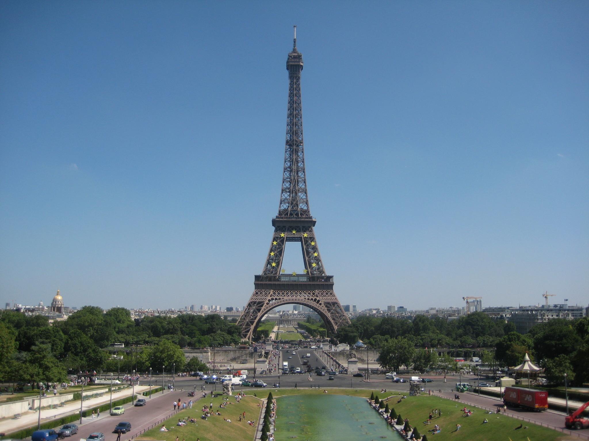 File la tour eiffel vue depuis le trocad ro 1 juillet - Tour eiffel image ...