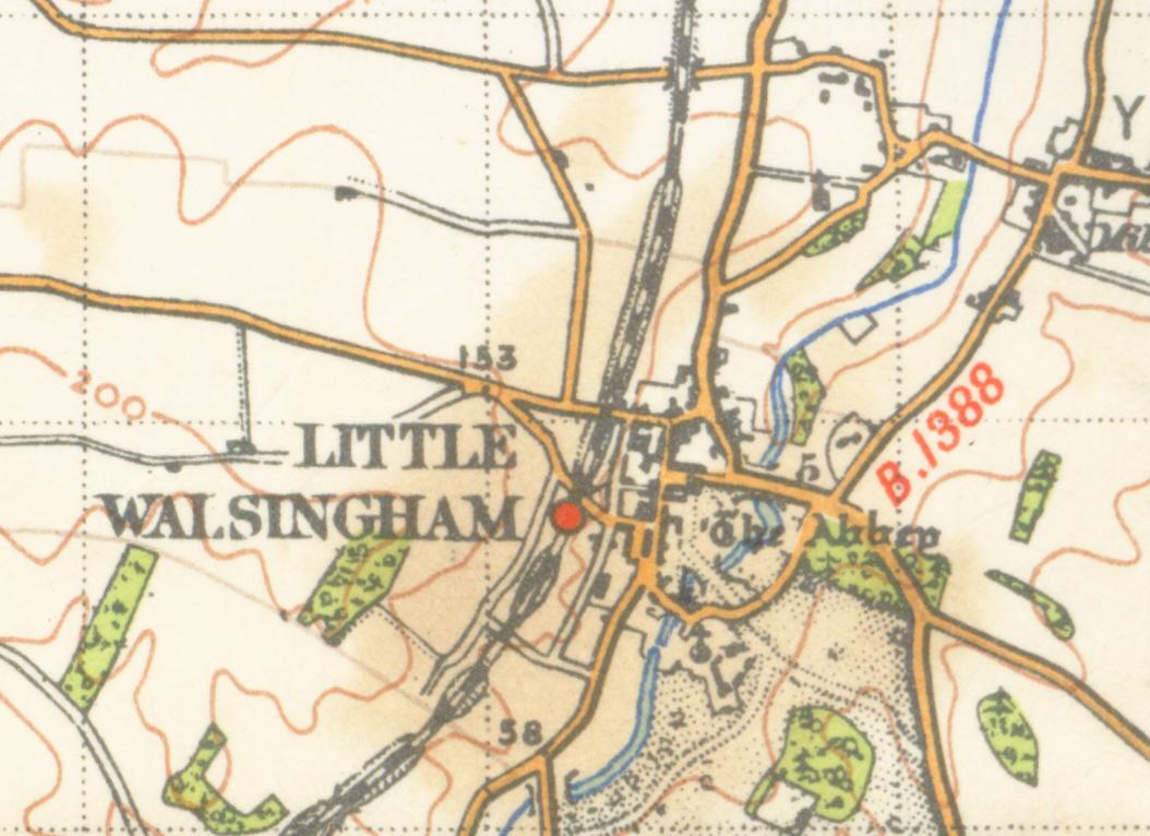 Image result for little walsingham map