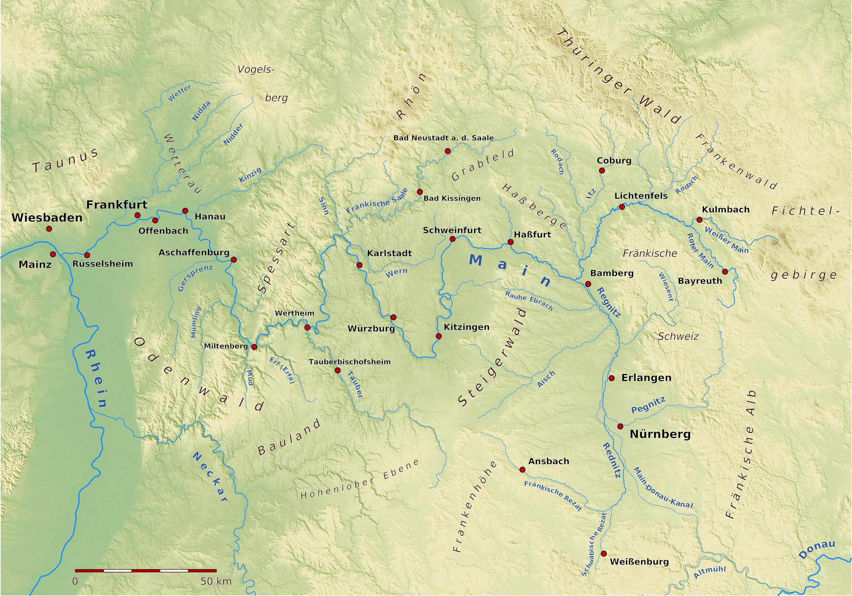 main fluss karte Main – Wikipedia