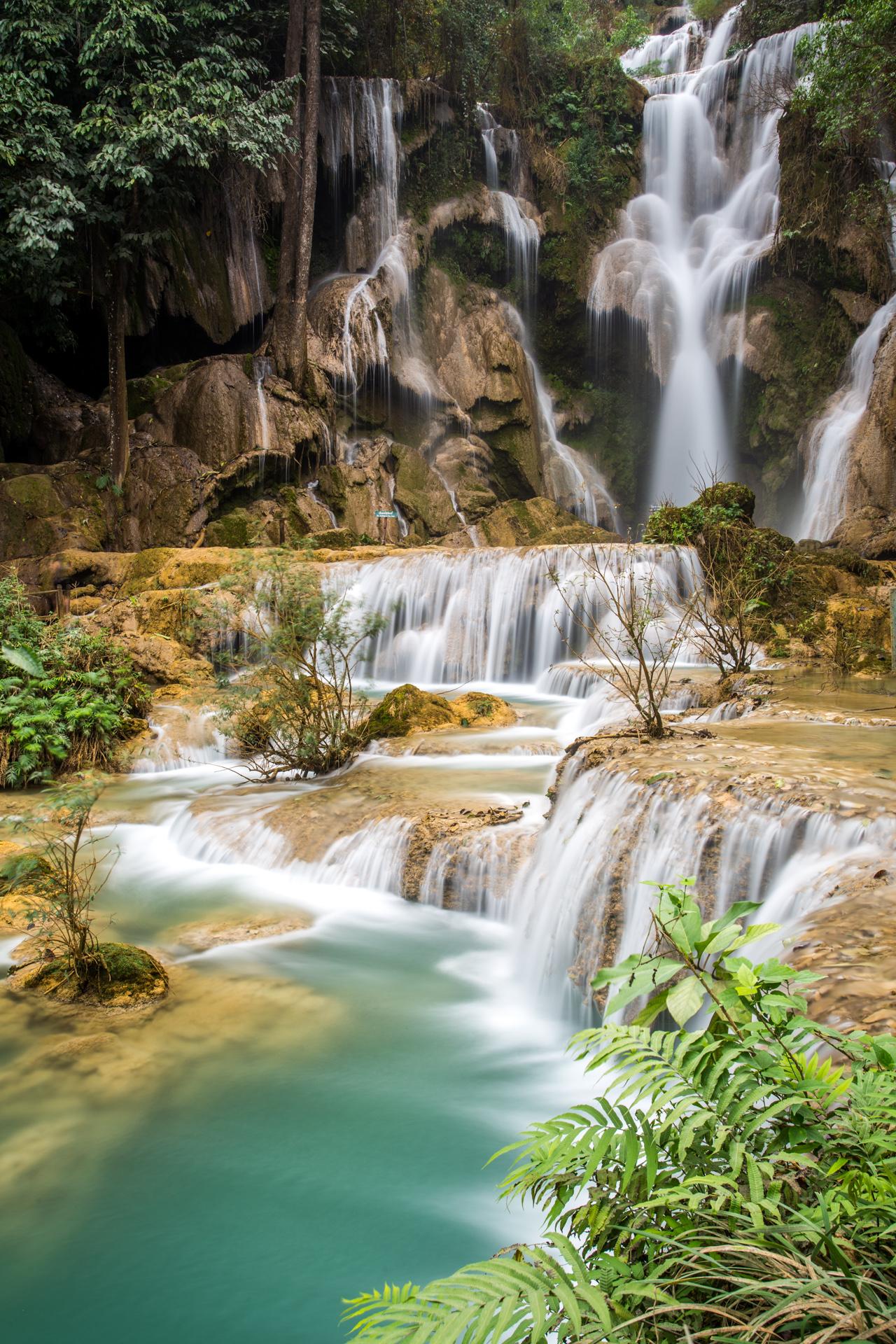 ไฟล์:Main Cascade - Kuang Si Falls, Luang Prabang, Laos.jpg - วิกิ ...