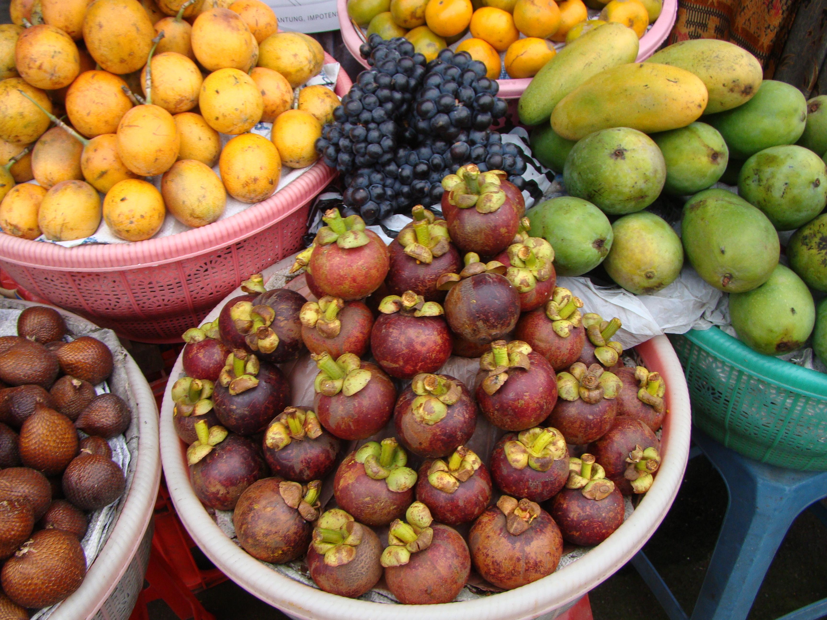 passion fruit mangosteen fruit