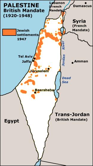 Gaza Map Palestine