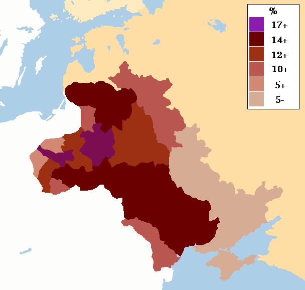 Pogromos Judíos en la Zona de Asentamiento Rusa