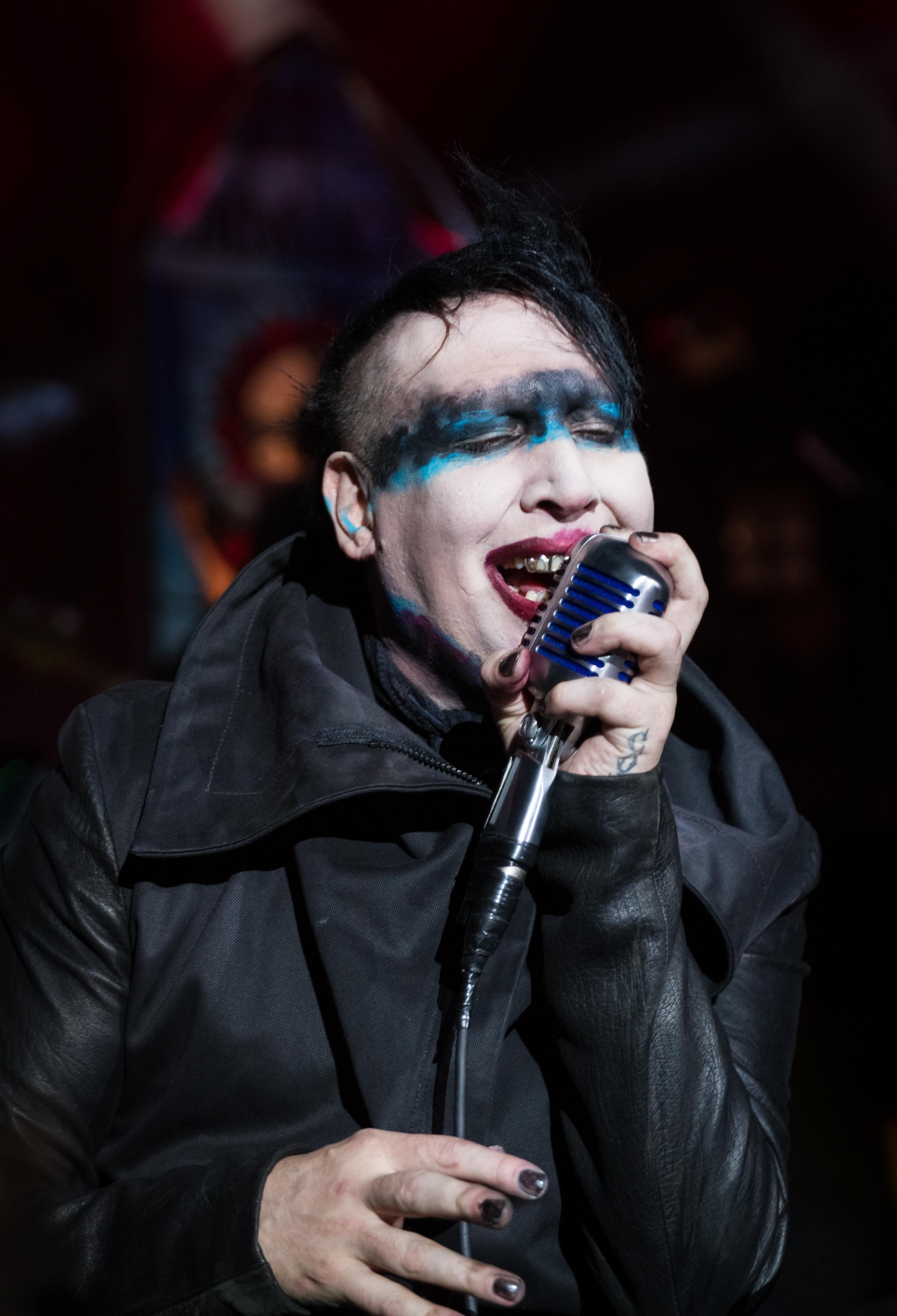 Marilyn Manson Rings