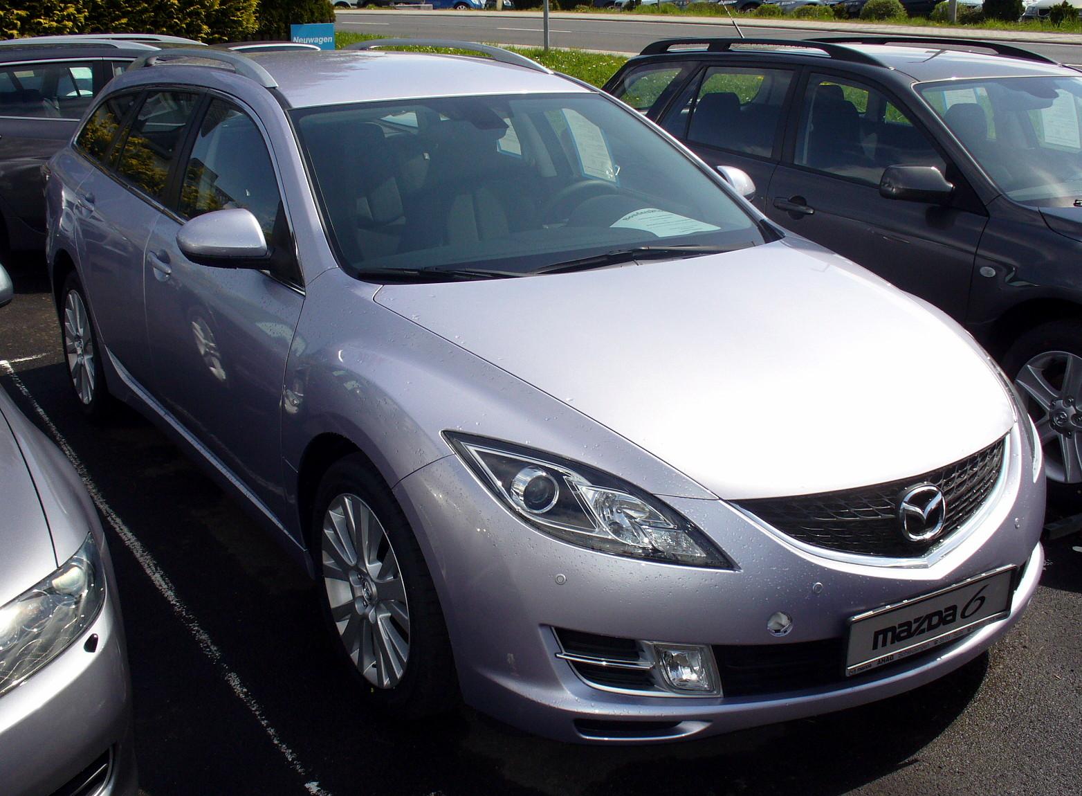 Mazda 6 Sport >> File:Mazda 6 GH Sport Kombi.JPG - Wikimedia