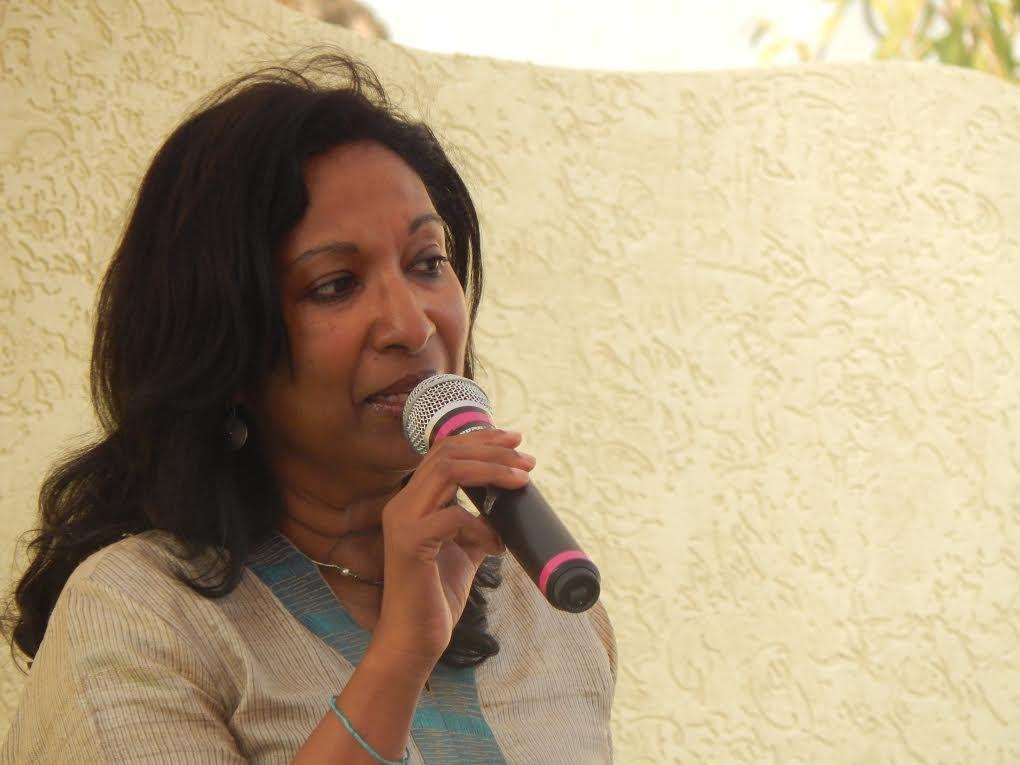 Alexander at [[Hyderabad Literary Festival]], 2016