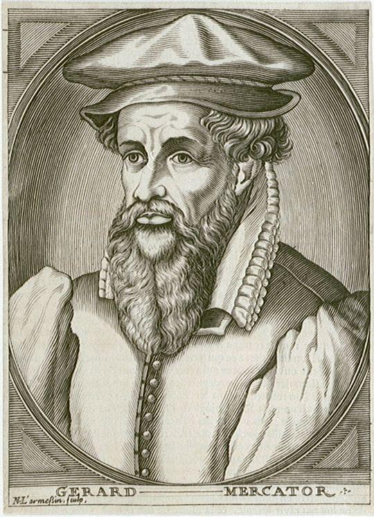 Depiction of Gerardus Mercator