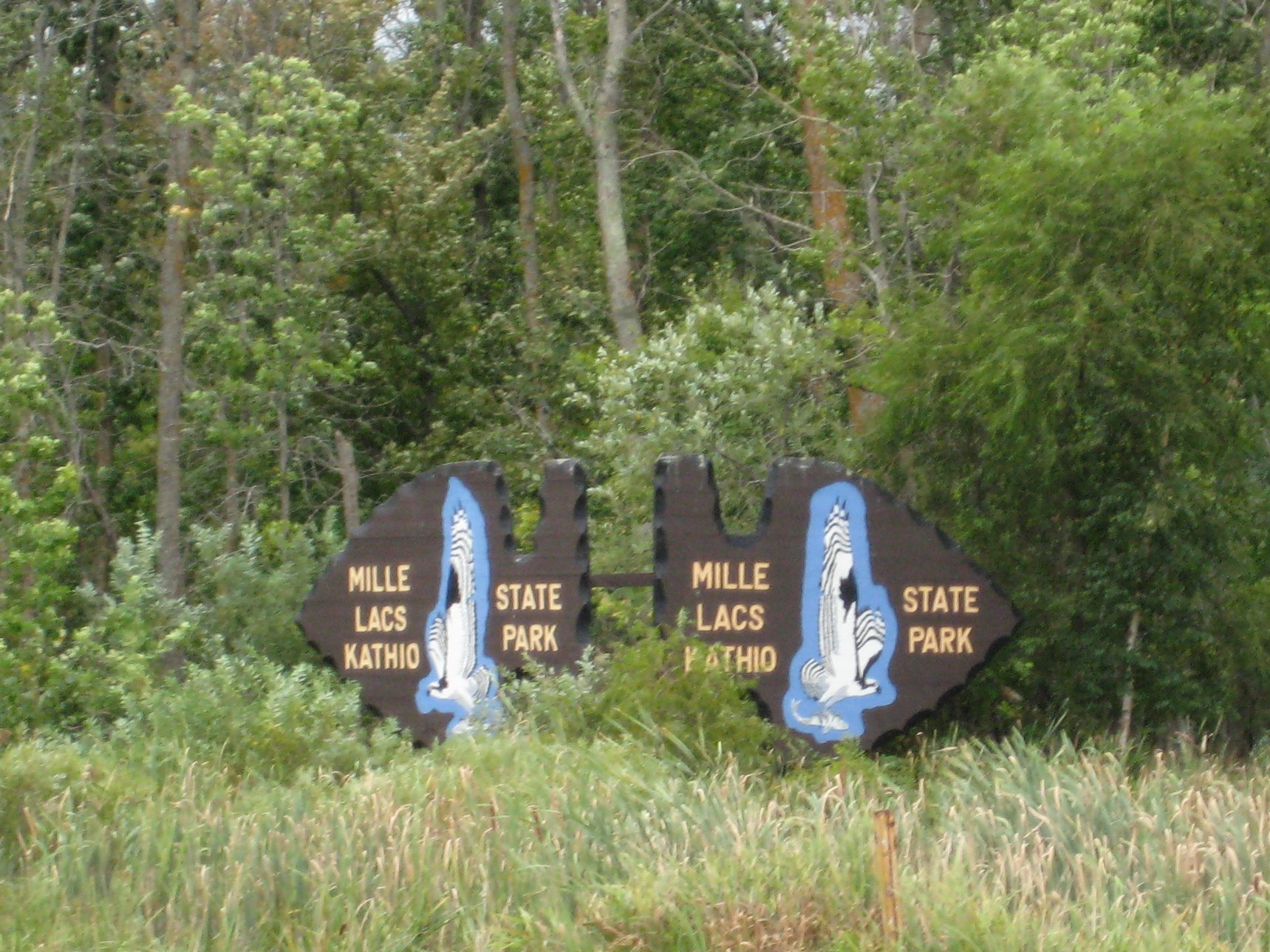 file mille lacs kathio state park sign jpg wikimedia commons rh commons wikimedia org mille lacs kathio state park reservations mille lacs kathio state park onamia