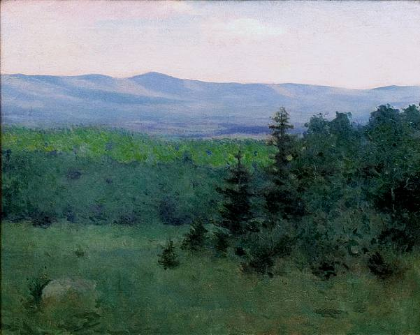Mount Monadnock oil c.1890 Frank Weston Benson