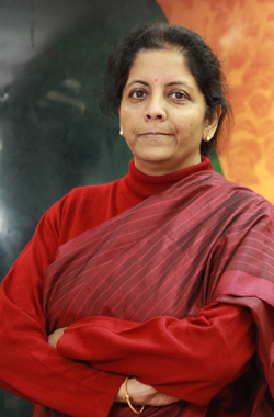 Nirmala Sitharaman takes charge as India's new defence minister
