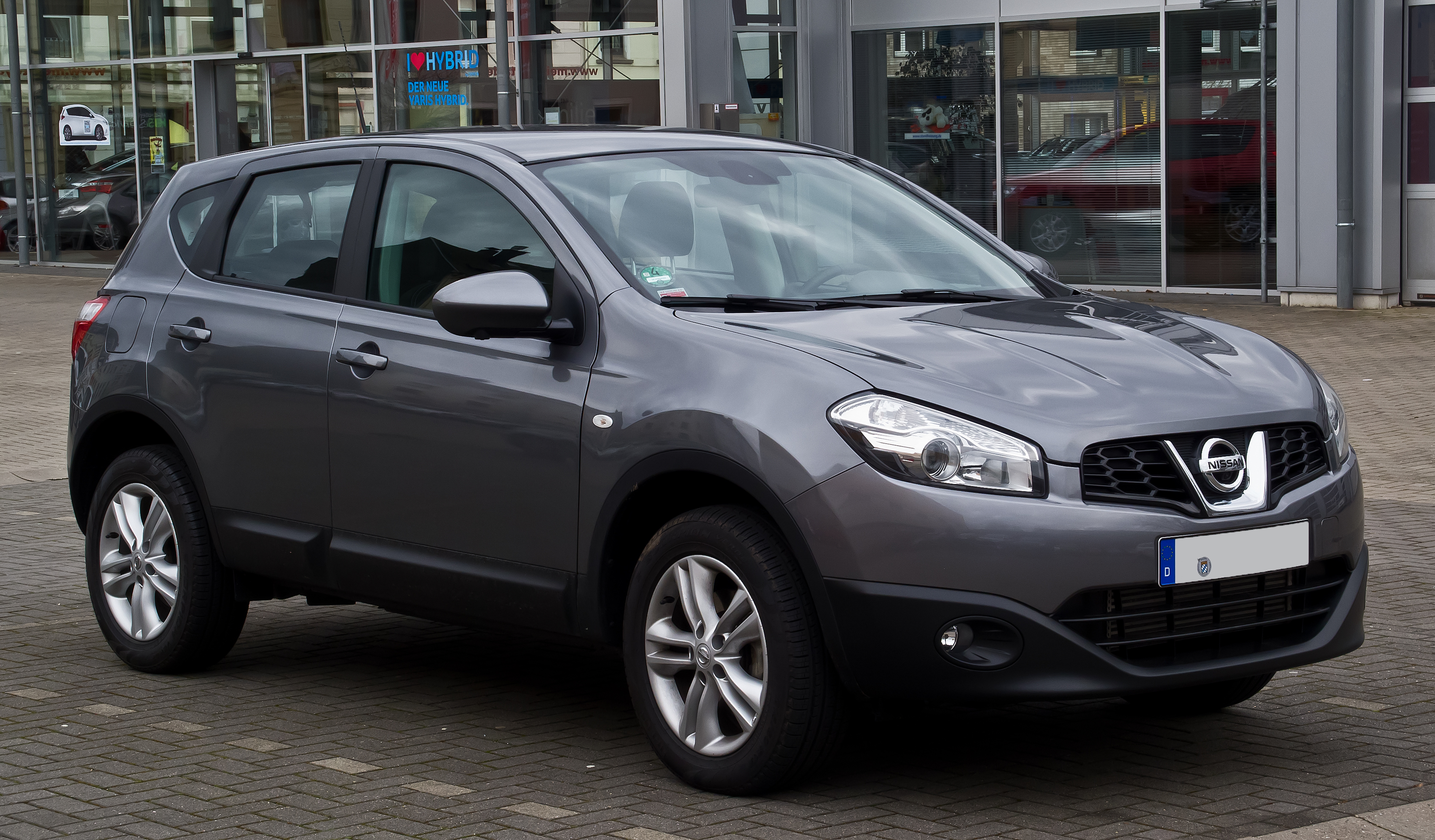 file nissan qashqai facelift frontansicht 1 m rz 2014 wikimedia commons. Black Bedroom Furniture Sets. Home Design Ideas