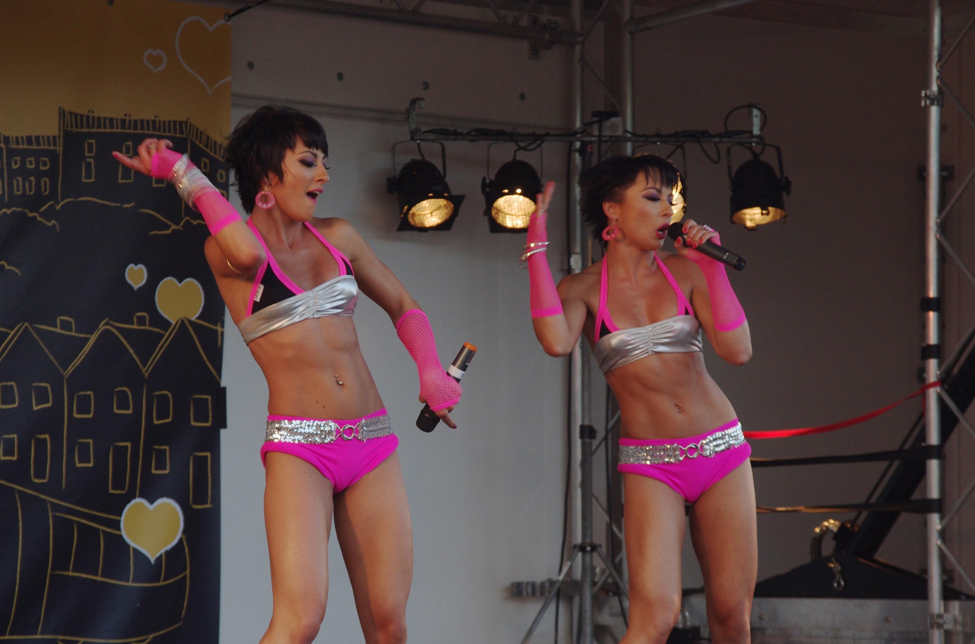 Description Nottingham Pride MMB B8 Cheeky Girls.jpg