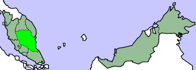 Map of Pahang