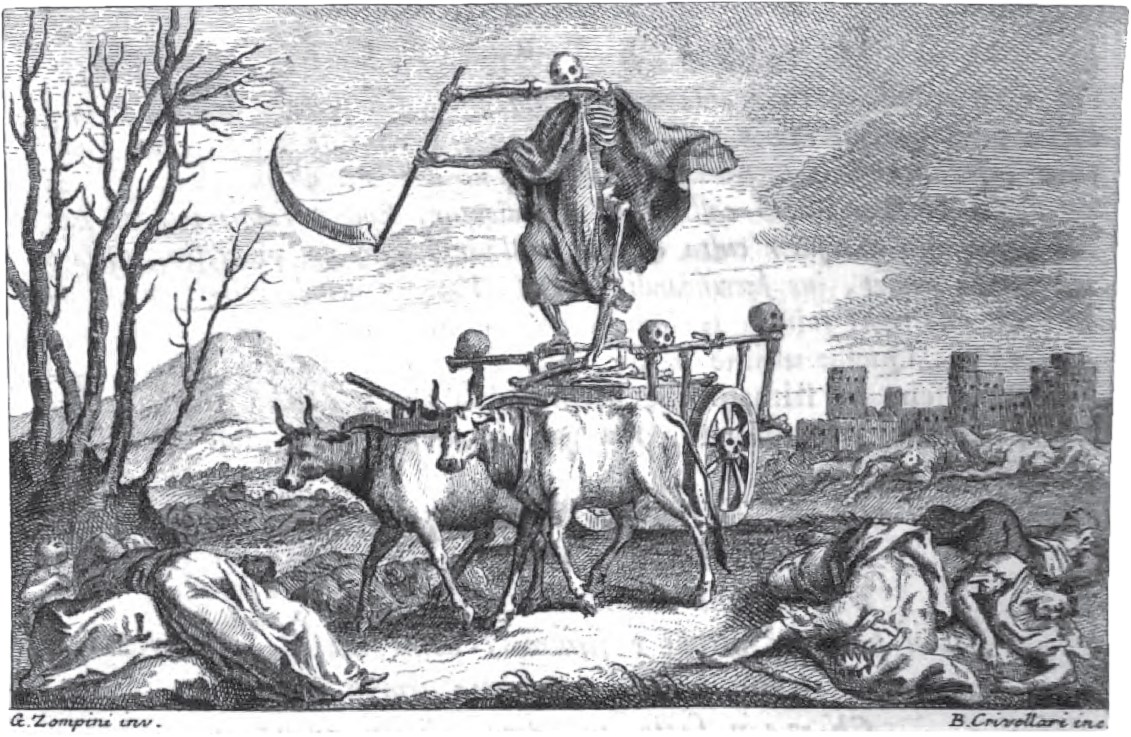 "illustration from ""The Triumph of Death"""